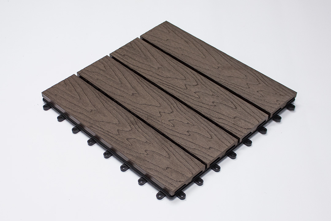 WPC DECKING 07B-H BROWN T101