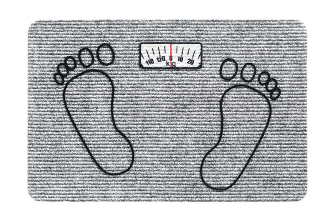 Flocky mat Weight Watcher